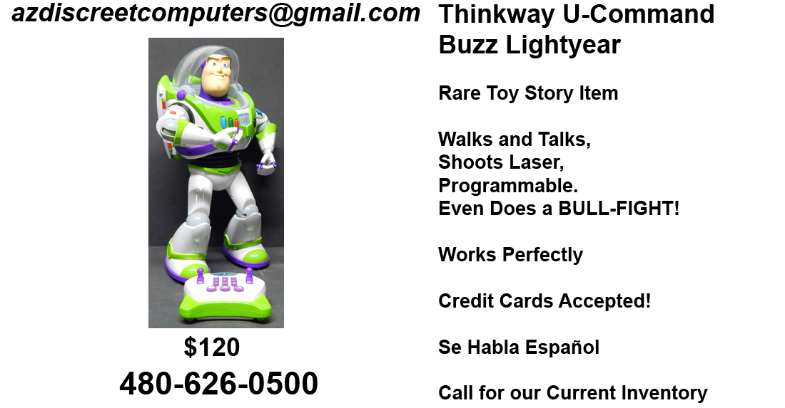 Thinkway Buzz Lightyear