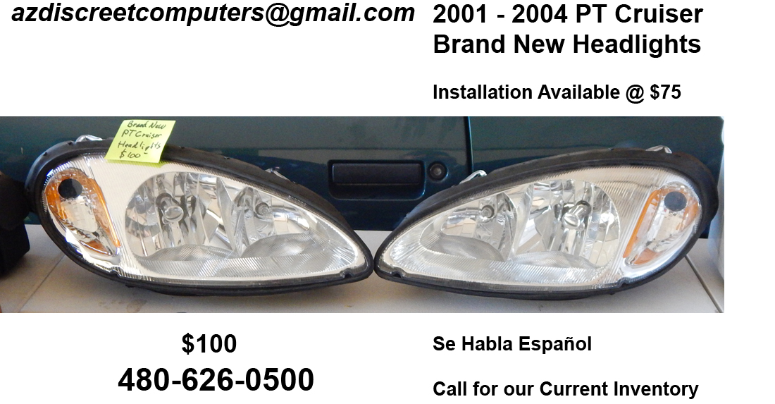 2001 PT Cruiser Headlights