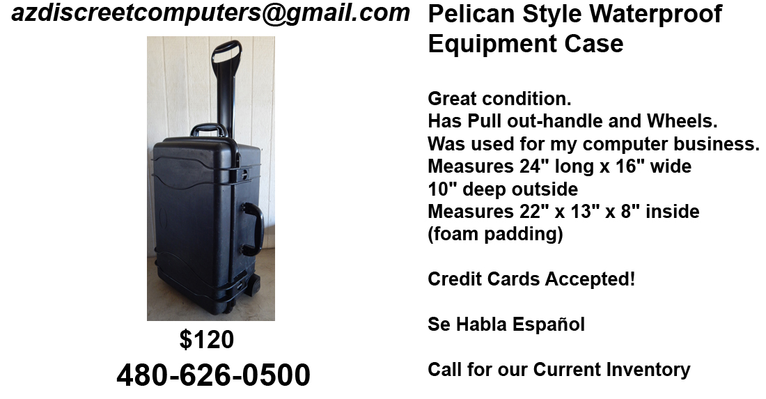Pelican Equipment Case