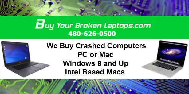 WE BUY YOUR BROKEN LAPTOPS | Windows, Mac | Best Price